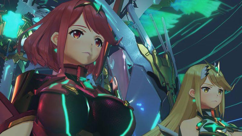 ホムラの胸アップ画像