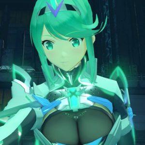 覚醒ホムラの胸アップ画像