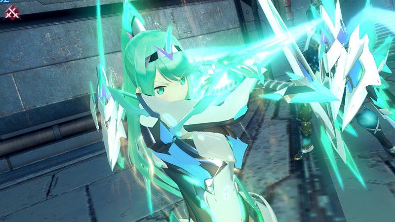 覚醒ホムラの戦闘シーンの画像
