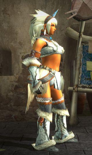 キリン装備の右側面画像