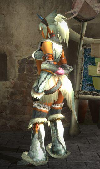 キリン装備の左側面画像