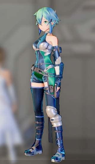 ホークアイドスーツFを着たシノンの画像2