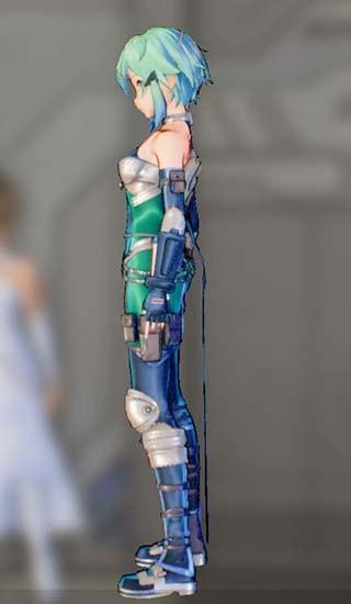ホークアイドスーツFを着たシノンの画像3