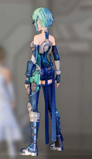 ホークアイドスーツFを着たシノンの画像4