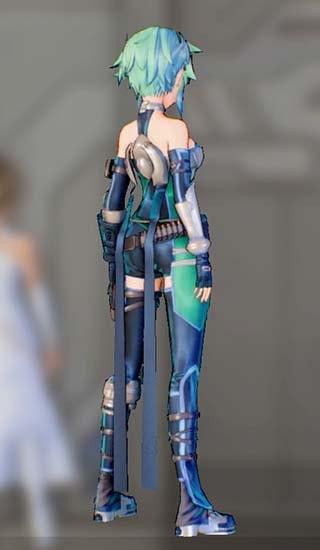 ホークアイドスーツFを着たシノンの画像6