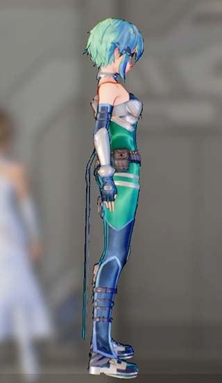 ホークアイドスーツFを着たシノンの画像7