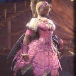 ブロッサム装備のカラーをピンクに変更した画像