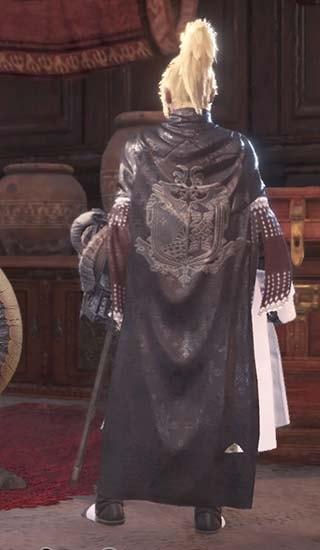 カラーを白に変更したギルドクロス重ね着衣装2