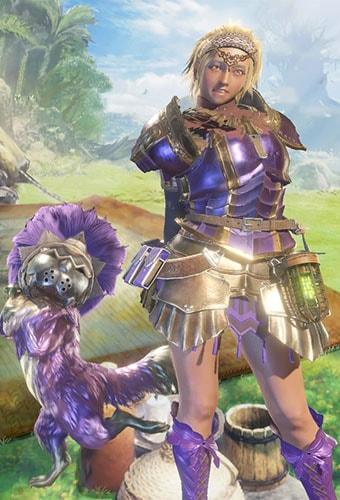 ギルドクロスアクセの重ね着をクシャナγと組み合わせた画像