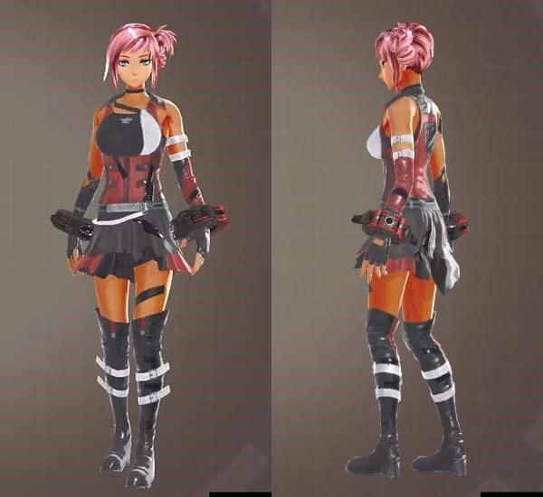 ビーストコンバット衣装【GODEATER3】