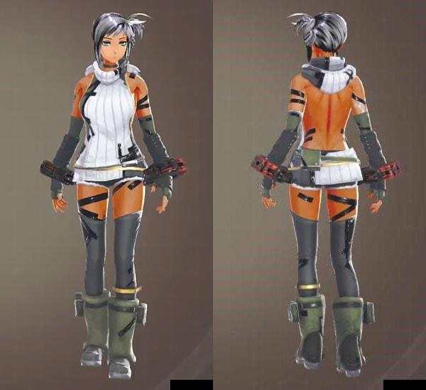 ゴッドイーター3のピュアカジュアル【装飾】衣装