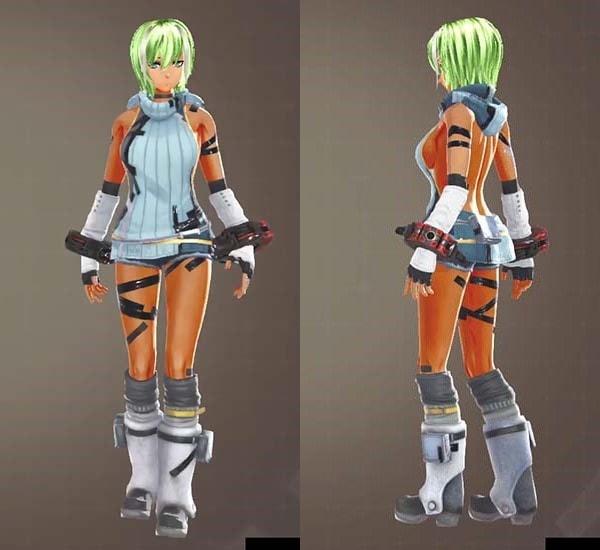 GODEATER3のクールカジュアル衣装