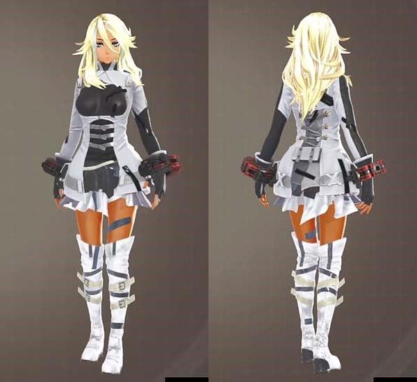 F制式兵装とウルフコンバットの組み合わせでかわいい衣装