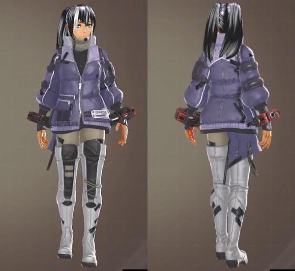 ミスティウィンター衣装(ゴッドイーター3)
