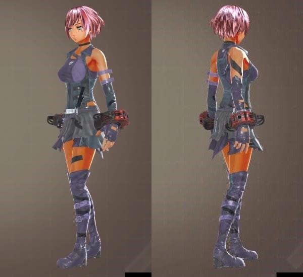 GODEATER3レイブンコンバット衣装