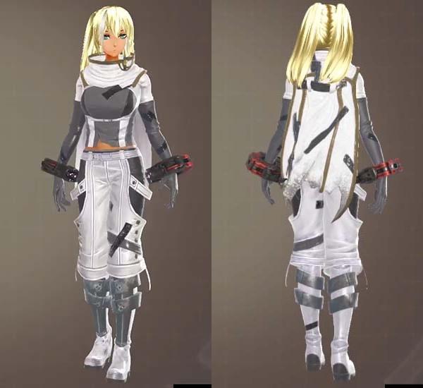 ゴッドイーター3のロイヤルセンチネル衣装