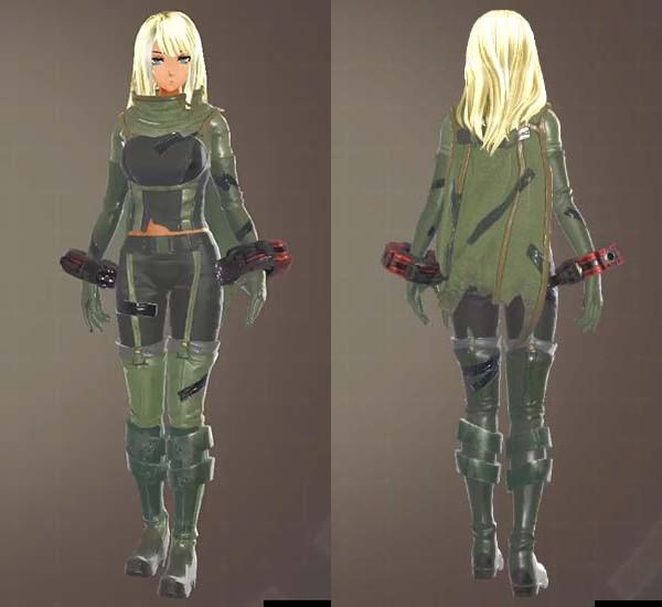 ワイルドセンチネル衣装(ゴッドイーター3)