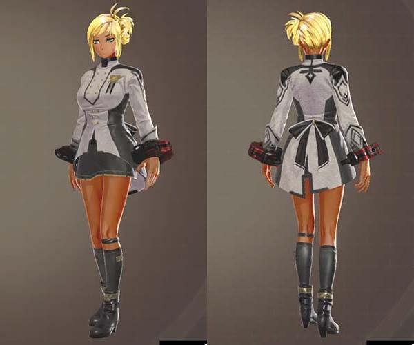 GE3 グレイプニル制式服衣装の見た目
