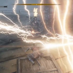 隻狼の弦一郎戦、雷返しの秘儀