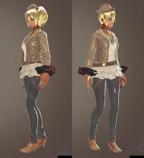 GE3のアンバーラギッド衣装の見た目2